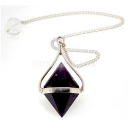 amethyst crystal pendulum